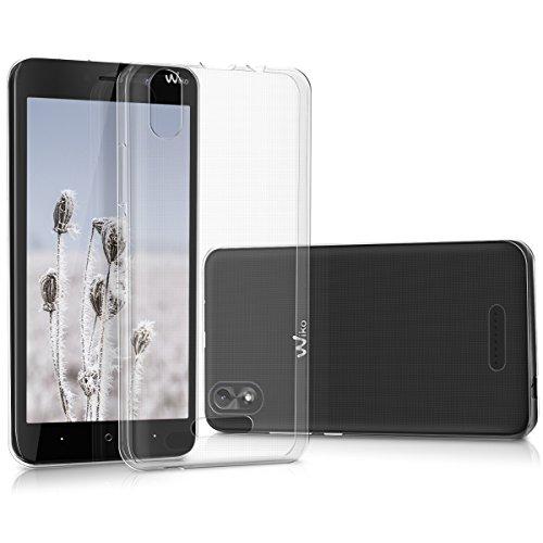 kwmobile Hülle kompatibel mit Wiko Lenny 4 Plus - Handyhülle - Handy Hülle in Transparent