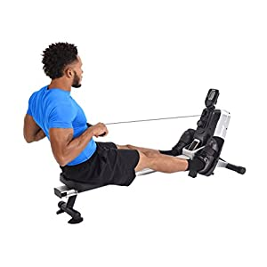 Stamina Multi-Level Magnetic Resistance Rower, Compact Rowing Machine