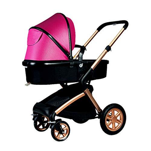 KPDVXA Lichtgewicht kinderwagen vliegtuig buggy met ligpositie kan in het vliegtuig meenemen klein inklapbaar voor baby vanaf de geboorte tot 3 jaar
