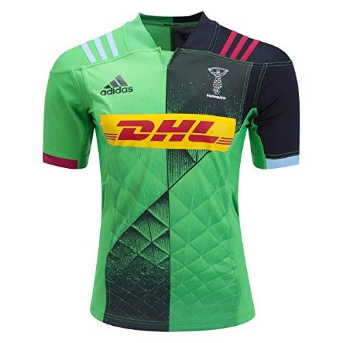 adidas Harlequins Away Rugby Trikot - Grün - Groß