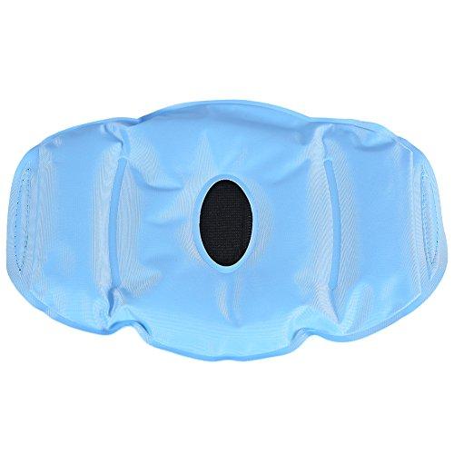 Avvolgere il Ginocchio in Gel, ANGGREK 2 Colori New Fashion Nylon Hot Cold Gel Pack Wrap per Alleviare il Dolore Al Ginocchio(Azzurro)