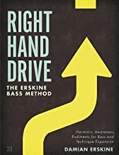 [Right Hand Drive: Harmonic Awareness, Rudiments for Bass and Technique Expansion] [Author: Erskine, Damian] [January, 2012]