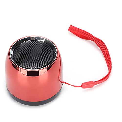 CUTULAMO Altavoz Pequeño, Mini Altavoz Calidad De Sonido Nítida Compatibilidad Universal Portátil 4 Horas De Juego con Un Cordón para La Familia
