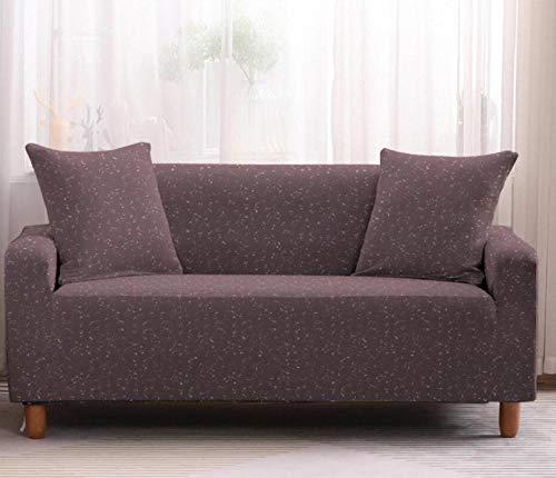 Funda Elástica de Sofá de 3 Plazas Patrón de Cielo Estrellado Rosa Funda sofá (Regalar 2 Funda de Cojines) Funda para Sofá Funda de sofá de Sillón Antideslizante Protector Cubierta de Muebles