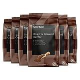 Marca Amazon - Solimo Café molido Aroma compatible con todos los usos, 1,36 kg (6 x 227g)