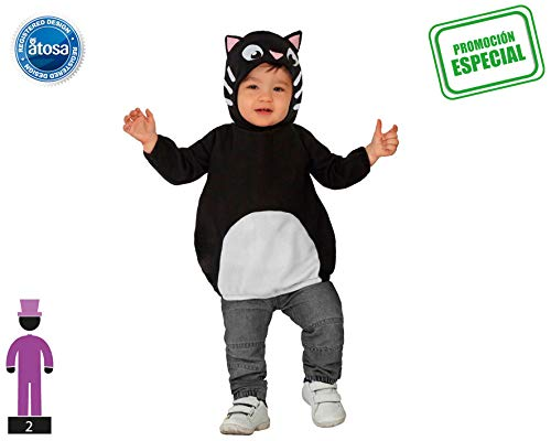 Generique - Costume Da Gatto Neonato 0 A 6 Mesi