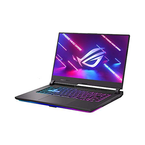 ASUS ROG Strix G15 39,6cm (15,6 Zoll, FHD, IPS-Level, 300 Hz, matt) Gaming-Notebook (AMD R7-5800H, 16GB RAM, 1TB SSD, NVIDIA GeForce RTX3070 (8GB), Windows 10) Eclipse Gray