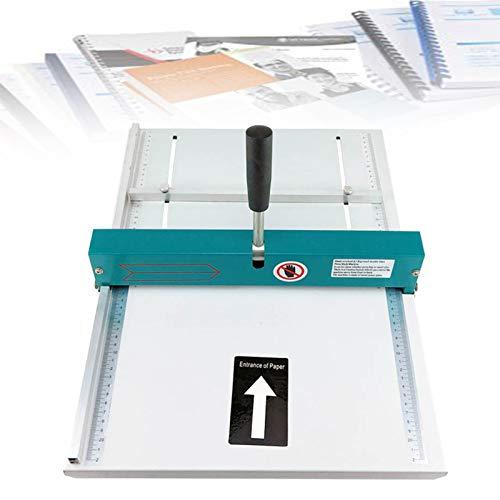 EnweLampi Rillmaschine 34Cm Papier Falzmaschine Falten Mit Magnetischer Rücklaufsperre Schwermetall, Max A4 Für Home Office Paper Card Book Scoring