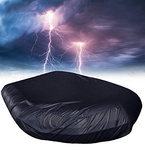 Coperture per barche da kayak, copertura per stivaggio per kayak impermeabile professionale, copertura per barca resistente ai raggi UV in tessuto Oxford 210d, copertura per gommone durevole