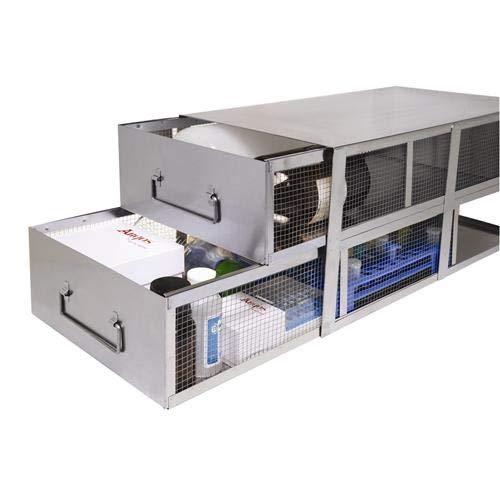 Argos Technologies RBM045 Staand Vriezer Bin Rack met Deksel, 21.81