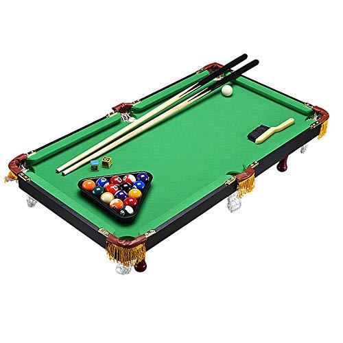 Wushuang Mini Tabletop Ball Billard Home Billard Spiel-Sets Billardtisch Für Kinder