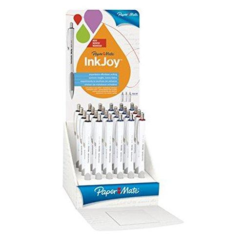 Papermate Inkjoy 700 balpen, rood/grijs/wit