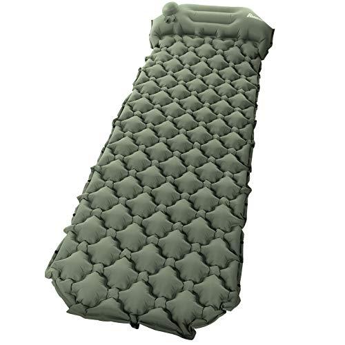Relefree Colchón Hinchable Plegable Ultraligero para Acampar
