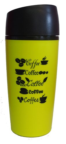 Primus Autobecher - 0,4 L, Polycarbonat, gelb, Kaffee