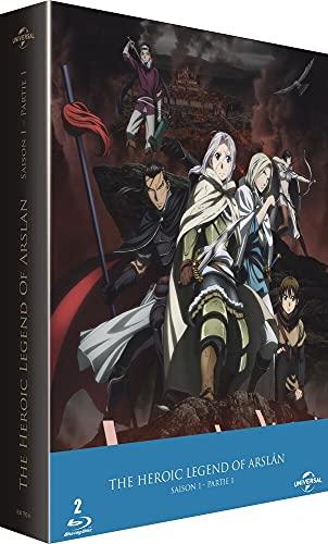 The Heroic Legend of Arslân - Saison 1 - Partie 1 [Italia] [Blu-ray]