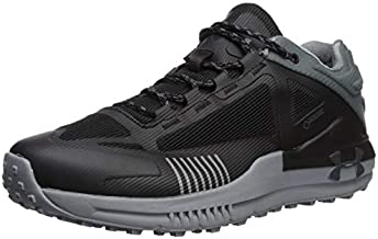 Under Armour Unisex Verge 2.0 Low Gore-TEX Hiking Boot, Black (003)/Pitch Gray, 8.5 US Men