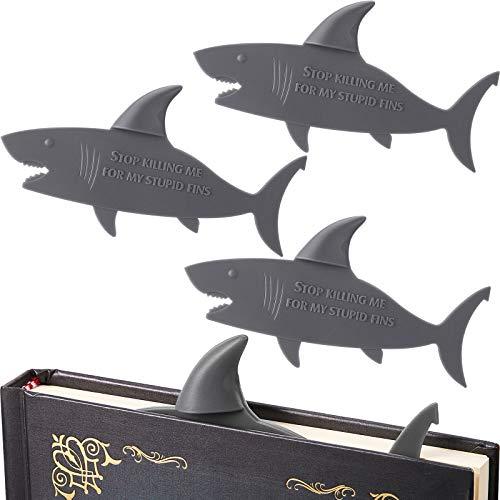 (60% OFF) 4 Piece Shark Bookmarks $5.20 – Coupon Code