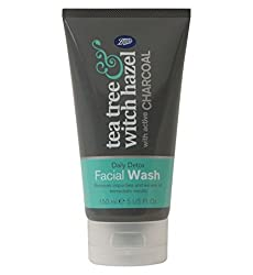 tea tree and witch hazel face cleanser