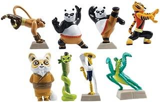 Kung Fu Panda Legends of Awesomeness Tiny Figure Set - Set of 8 Figures