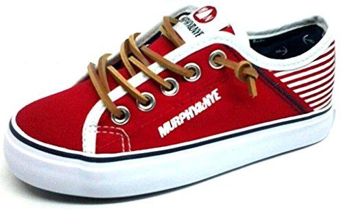 MURPHY&NYE Sneakers, Scarpette Bimbo Tela MOD. S17-SMN041 Rosso (30)