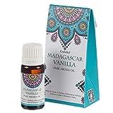 2 x Olio aromatico puro vaniglia Madagascar Goloka Pure Aroma Essenza Bruciare