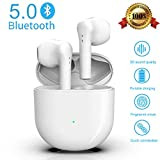 Wireless Earbuds Wireless Headphones Bluetooth 5.0 Earphones in-Ear Earbuds 24h Playtime Built-in Mic Earbuds with Noise Canceling Fast Charging IPX5 Waterproof for iPhone Apple Airpods Sport Earbuds