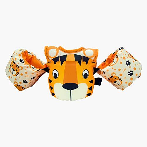 Colete Salva Vidas Infantil Homologado Tigro