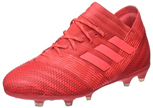 adidas Unisex-Kinder Nemeziz 17.1 FG Fußballschuhe, Rot (Reacor/Redzes/Cblack), 35 EU