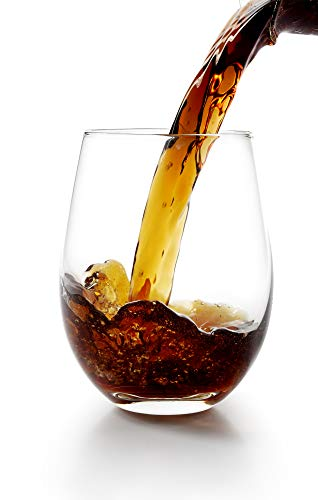 Umi.by Amazon Gläser Wassergläser Highball Trinkgläser Wasser Gläserset Set von 6,535ml,Passend für sämtliche Kaltgetränke