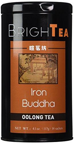 Brightea Monkey Picked Oolong Tea Loose Leaf Monkey Picked China Tie Guan Yin Iron Mercy Goddess 4.1 Ounce Tin (Supreme Grade)