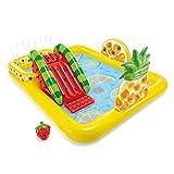 ZFAYFMA Bañera infantil grande portátil para piscina de remo en el suelo, plegable, adecuada para jardín, patio, terraza, cuarto de baño, color amarillo