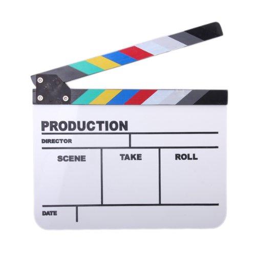Ardoise Clap Coloré Pour TV Film
