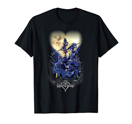 Disney Kingdom Hearts Group Shot Logo T-Shirt