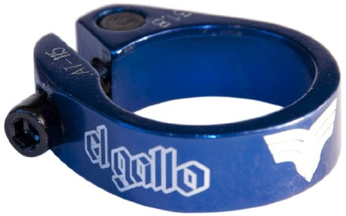 El Gallo Components 14SC-80-BE - Cierre de sillín para Bicicleta, Color Azul