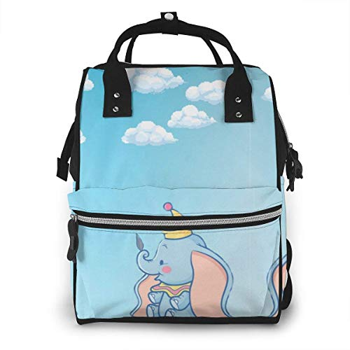 maichengxuan Diaper Bag Backpack - Baby Dumbo Wallpaper Mult