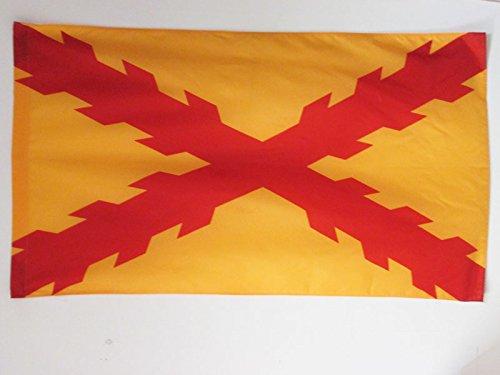 AZ FLAG Bandera de ESPAÑA TERCIOS MORADOS Viejos 150x90cm para Palo - Bandera Ejercito ESPAÑOL 90 x 150 cm