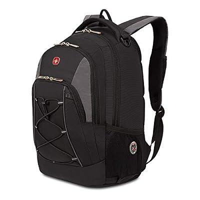 SwissGear 1186 Travel Bungee Backpack (Black) by SwissGear