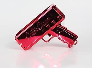 The Cash Cannon Make It Rain Money Dispenser - Chrome Red - Novelty Item