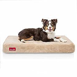 Brindle Orthopedic Dog Bed