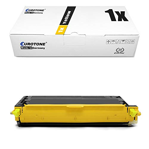 1x Eurotone Toner Cartridge for Dell 3110 3115 cn replaces 593-10173 NF556 Yellow