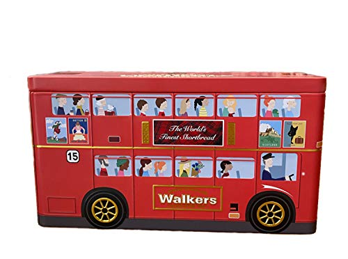 Walkers London Bus - Galletas Surtidos, 250 gramos