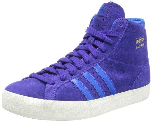 Adidas Originals Basket Profi W, Zapatillas Altas Mujer, Blapur/Blubi, 36 EU