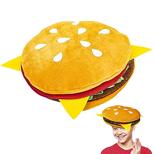 ArtCreativity Funny Hamburger Hat, …