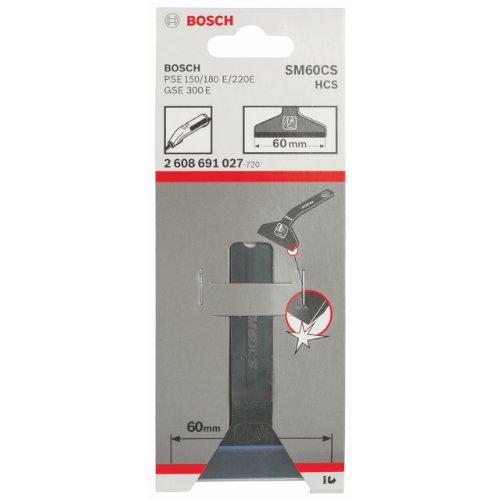 Bosch Professional 2608691027 PSE Stahl-Messer,60 mm,e x tra scharf