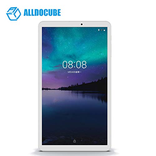 MeterMall ALLDOCUBE iPlay8 Pro 8,0 Zoll 3G Phablet 2 GB RAM 32 GB ROM Android 9,0 MTK8321 1,3 GHz Quad-Core-CPU 2.0MP-Kamera (Ledertasche Random Color) Silber Weiss US Standard Tablet + Ledertasche