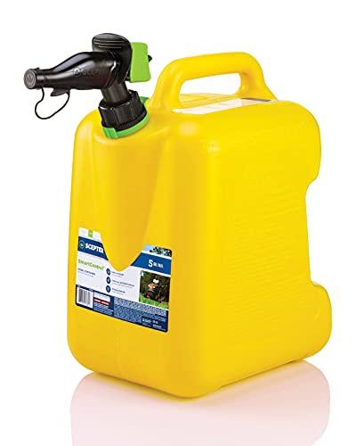 Scepter FSCD552 5 Gallon SmartControl Rear Handle Diesel Can, Yellow