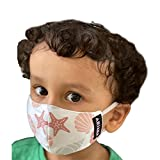 Made from very fine 100% cotton Cloth (high thread count) Reversible – (2 different colours/Designs) Re-usable, Hand-wash Only Breathable, Stretchable, Soft & Comfortable, Unisex ARiANA Masks will fit an estimate of 70% of the recommended age group d...