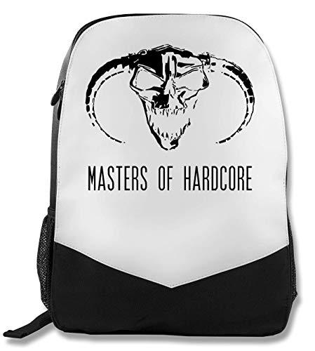 Master of Hardcore Black Evil Logo Rucksack