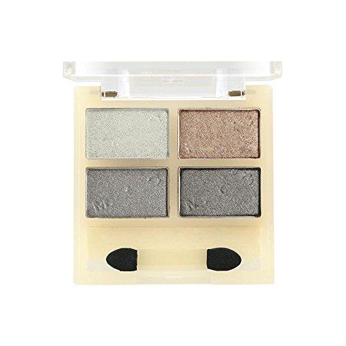 Light Feel Combinaison d'ombre à paupières à 4 couleurs, Silicate délicat pour créer un maquillage varié , 003
