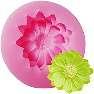 Tikkii Water Lilies Fondant Mold 3D Flower DIY Silicone Mould Cake Decor Baking